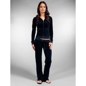 Juicy Couture Velour Tracksuit in Royal Blue